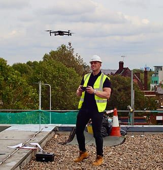 where to get roof surveys with a drone
