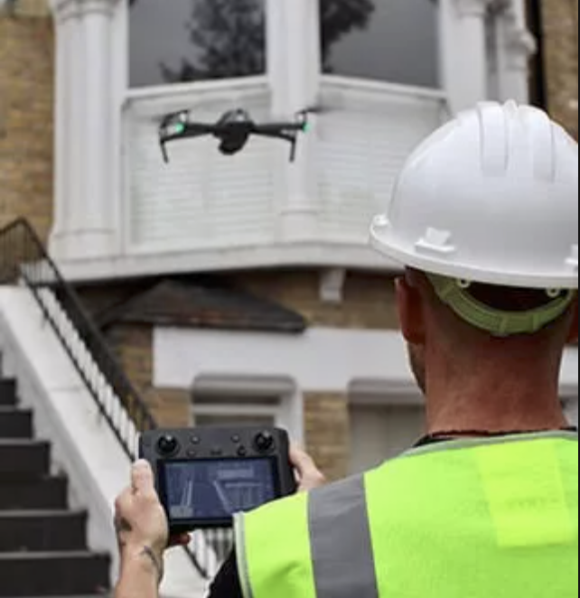 who has the cheapest roof surveys with a drone